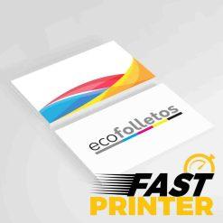 Tarjetas Fast printer
