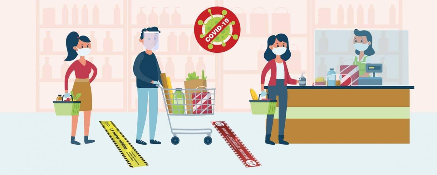 Prevención anticontagio para comercios